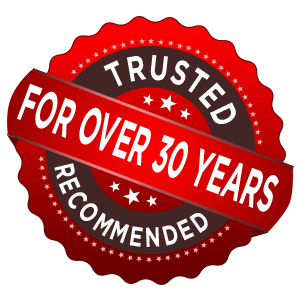 Trusted and Recommended For Over 30 Years